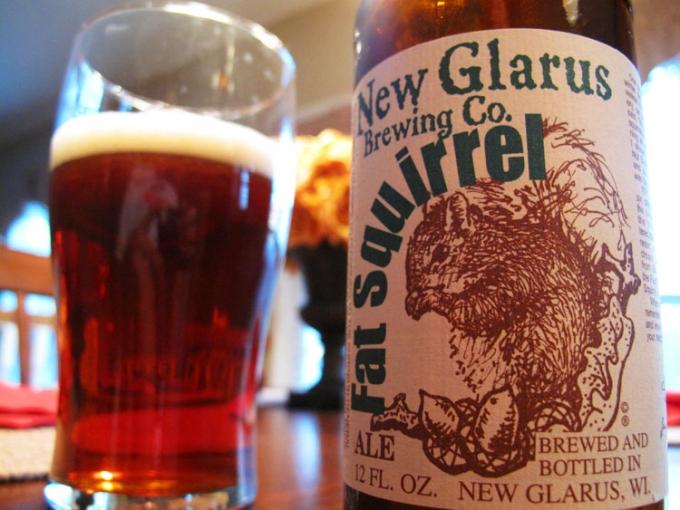 New Glarus Fat Squirrel Brown Ale | Frank Beverage Group